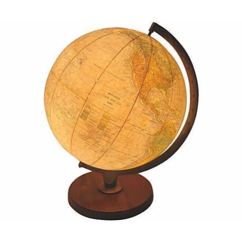 Vintage Lighted World Globe - Image 1 of 4
