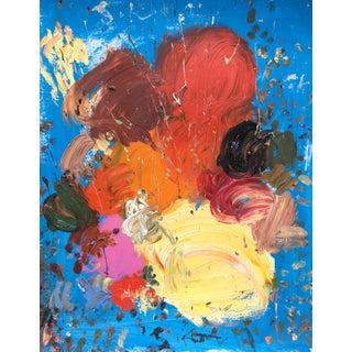 Sean Kratzert 'Atlantic Ocean' Abstract Oil Painting For Sale