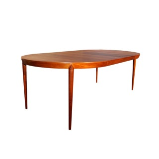 1960s Danish Modern Kai Kristiansen Teak Dining Table For Sale