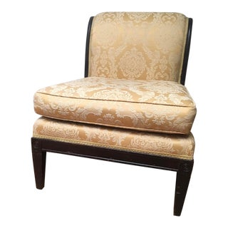 Hollywood Regency Slipper Chair For Sale