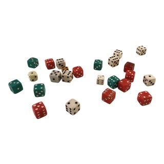 Vintage Dice - Set of 12 For Sale