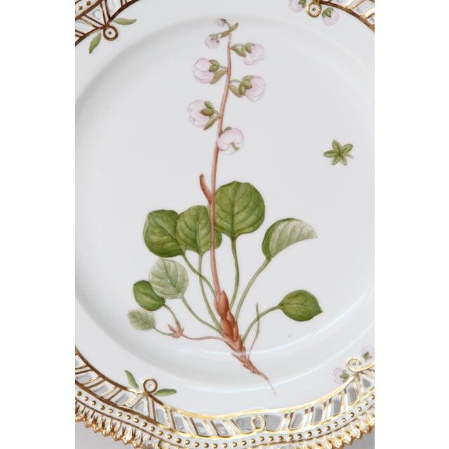 Royal Copenhagen Flora Danica Pierced Plates #20/3554 For Sale - Image 11 of 13