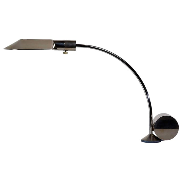 Early Period Chrome Table Lamp by Cedric Hartman - Image 1 of 7