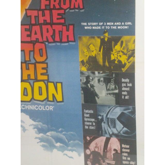 Original 1958 Sci-Fi Framed Movie Poster For Sale In Denver - Image 6 of 9