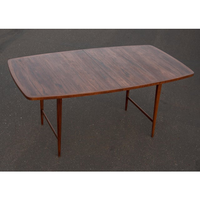 1960s Mid-Century Modern Paul McCobb Rosewood Lane Delineator Series Dining Table For Sale - Image 10 of 10
