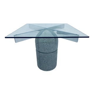 "Giovanni Offredi ""Paracarro"" Dining or Center Table for Saporiti Italia For Sale"