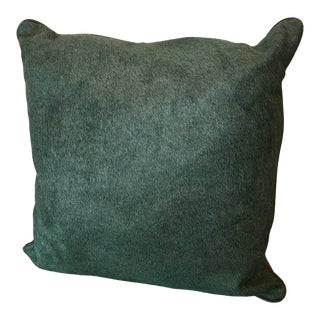 Custom Cow Hide Cushion With Leather Piping For Sale