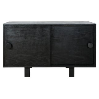 Modern Black Aquinas Cabinet For Sale