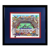 "Image of ""Giants"", 3-D Serigraph of Giants Stadium by Charles Fazzino For Sale"