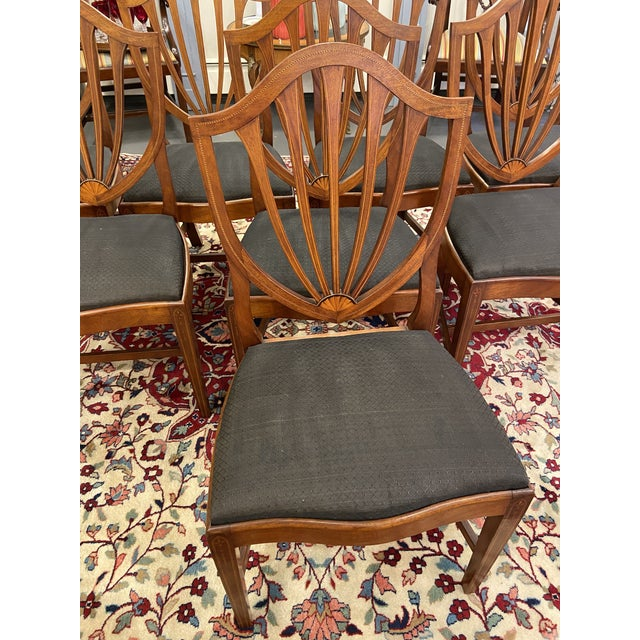 Early 20th Century Irving & Casson Dining Chairs - Set of 8 For Sale In Boston - Image 6 of 13