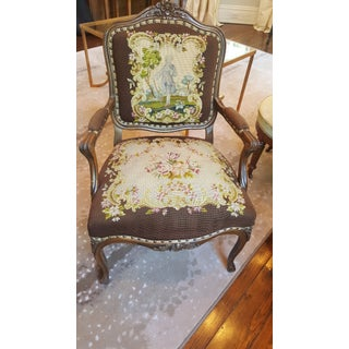 Late 19th Century Antique Needlepoint Chair Preview