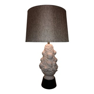 Vintage Italian Porcelain Table Lamp For Sale
