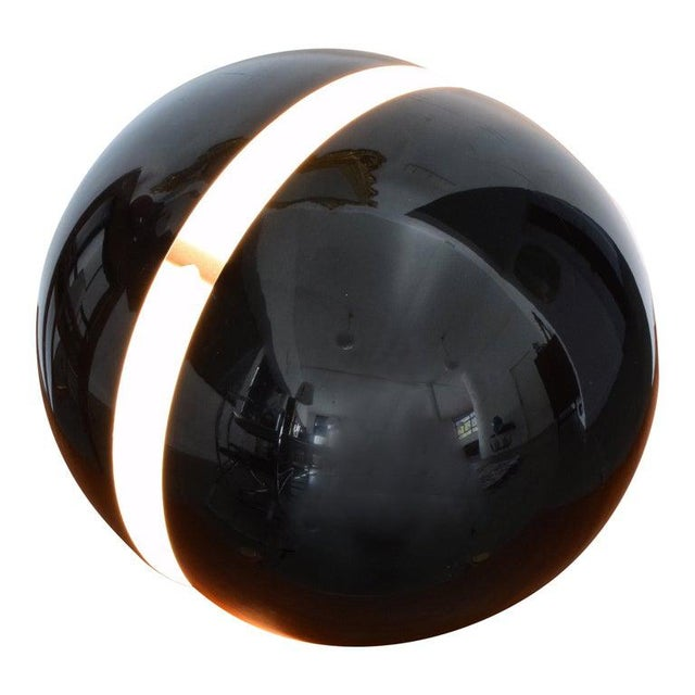 20th Century Globe Table Lamp by Andrea Modica for Lumess, 1980's For Sale - Image 9 of 9