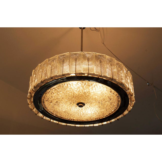 Large Austrian Chandelier by Rupert Nikoll, 1950s For Sale - Image 10 of 11