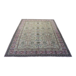 "Zan Tuch Oriental Turkish Hand Woven Rug - 6'9""x 9'5"" For Sale"