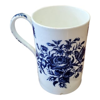 Dr. Wall Worcester Porcelain Tankard Circa 1770 For Sale
