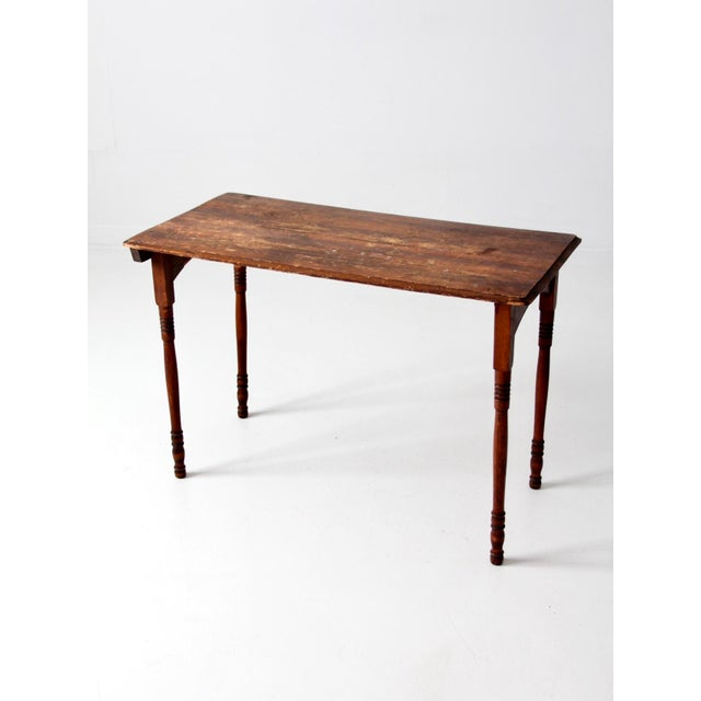 Antique Sewing Table For Sale - Image 4 of 11 - Antique Sewing Table Chairish