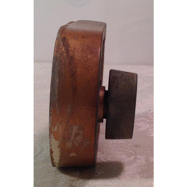 Mid-Century Modern Thumb Latch Lock Deadbolt For Sale - Image 5 of 9