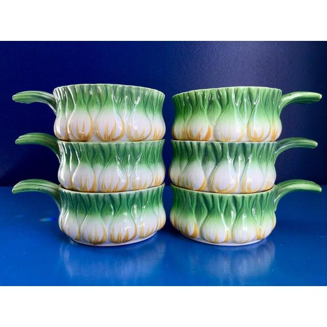 Vintage Georges Briard l'Oignon Soup Bowls- Set of 6 For Sale - Image 12 of 12