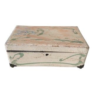 18th C French Marriage Box Coffre De Mariage For Sale