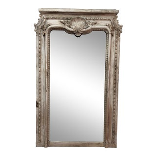 Custom Made White Wash Mirror