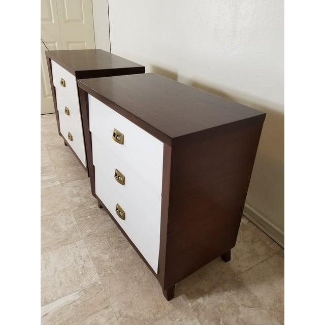 Pair of Modern Chest of Drawers For Sale In Los Angeles - Image 6 of 13