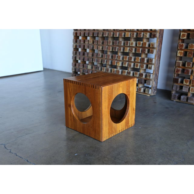 Brown 1960s Peter Hvidt for Richard Nissen Cube Nesting Tables - a Pair For Sale - Image 8 of 12