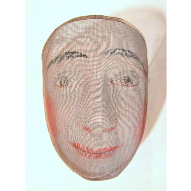 Early 1900's French Pantomime Masks - Pair - Image 3 of 10