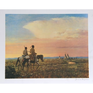 Duane Bryers, Return of the Hunters, Lithograph For Sale