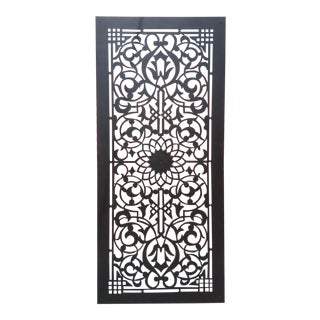 Modern Moroccan Wooden Screen Divider For Sale