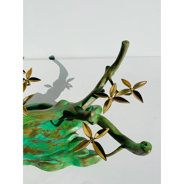 Willy Daro Willy Daro Brass Bonsai Tree Coffee Table Base For Sale - Image 4 of 13