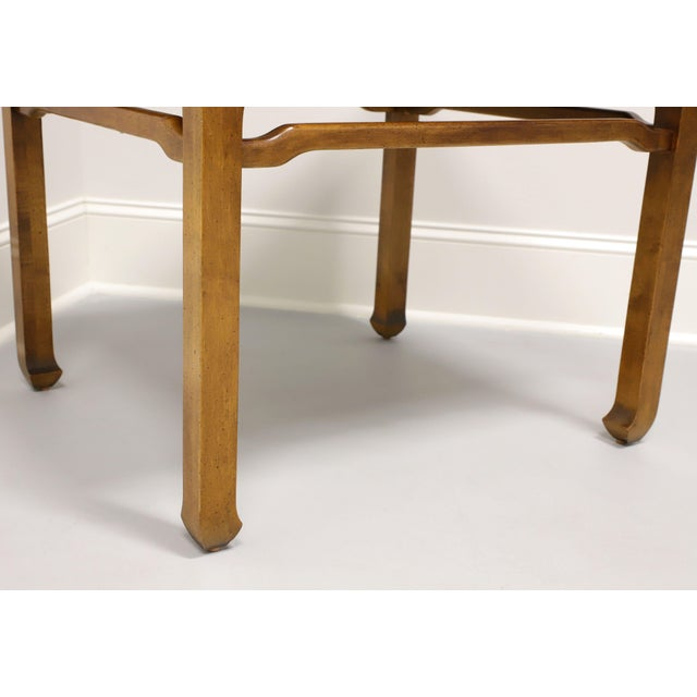Brown Century Chin Hua Raymond Sobota Asian Chinoiserie Accent Table For Sale - Image 8 of 9