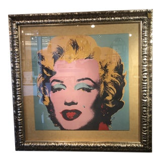 1990s Andy Warhol Marilyn Monroe Reproduction Print For Sale