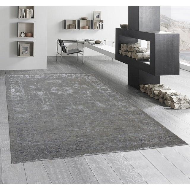 Pasargad Silk & Wool Fusion Rug - 6′ × 9′ - Image 5 of 5