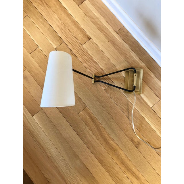 Contemporary Keil Swing Arm Sconces- A Pair For Sale - Image 3 of 8