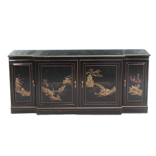 Vintage Chinoiserie Credenza Sideboard For Sale