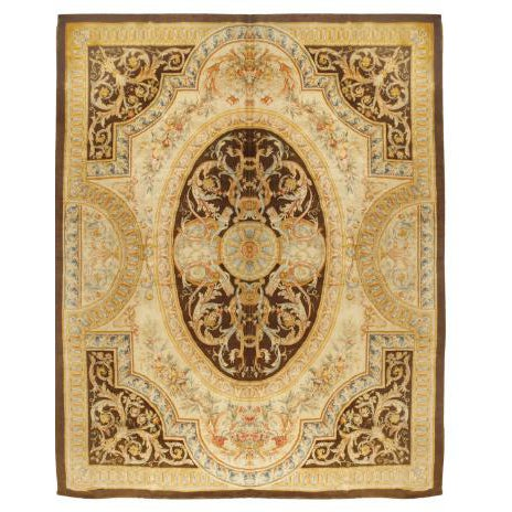 Exceptional Antique Early 19th Century French Savonnerie Carpet For Sale
