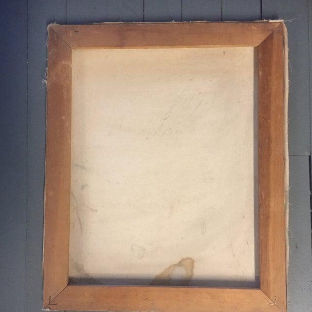 Original Stewart Ross Abstract Painting For Sale - Image 5 of 6