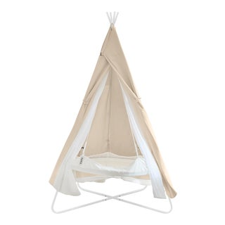 Kids Tan TiiPii Bed Playtime Cover for Bambino TiiPii Stand For Sale