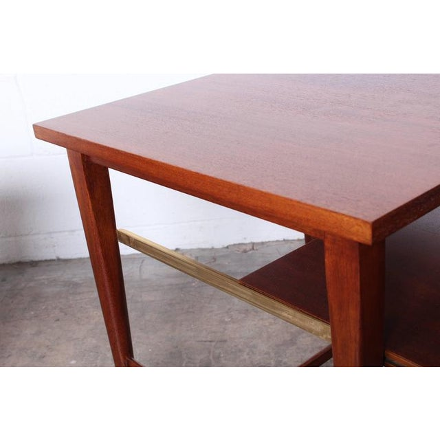 Calvin Pair of End Tables by Paul McCobb for Calvin For Sale - Image 4 of 10