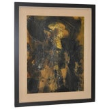 Image of Vintage Abstract Painting C.1970s For Sale