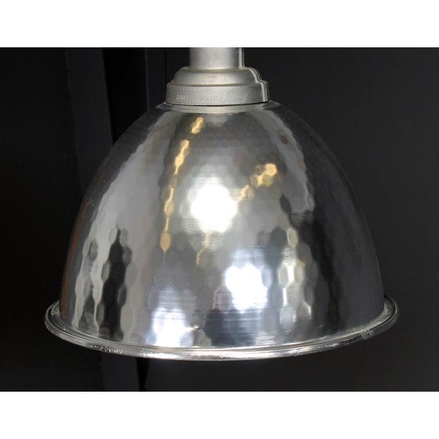 Large Vintage Industrial Ceiling Light, 1980 For Sale - Image 4 of 8