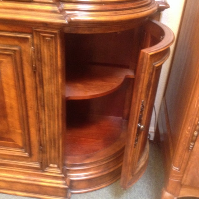 Arched Sideboard With Lighted Hutch - Image 6 of 9