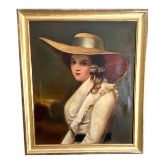 19th Century English Portrait After Joshua Reynolds For Sale