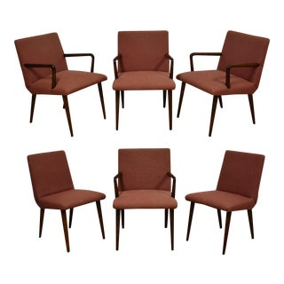 Russel Wright Conant Ball Dining Chairs - Set of 6 For Sale