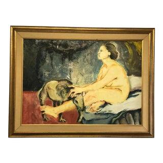 "Juan Carlos Bronstein ""El Sueno"" Oil Painting For Sale"