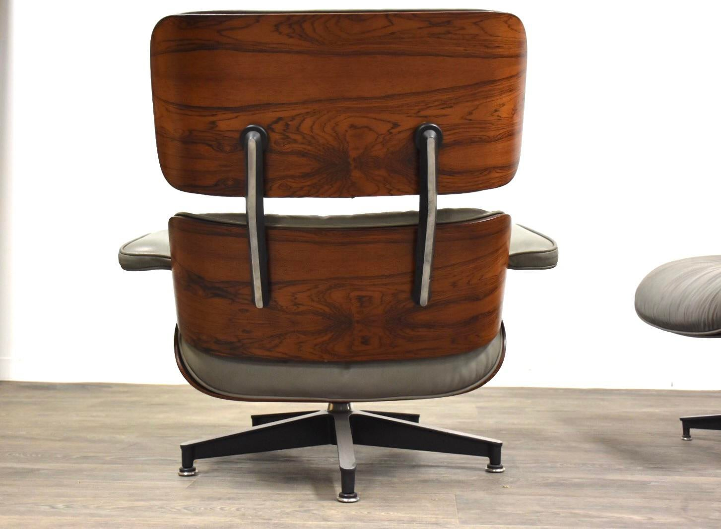 Herman Miller Eames Rosewood 670 Lounge Chair And Ottoman For Sale   Image  4 Of 12