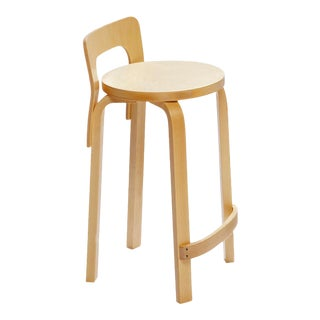 High Chair K65 in Lacquered Birch by Alvar Aalto & Artek For Sale