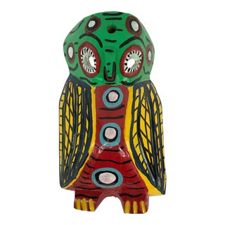 Guatemalan Owl Mask For Sale