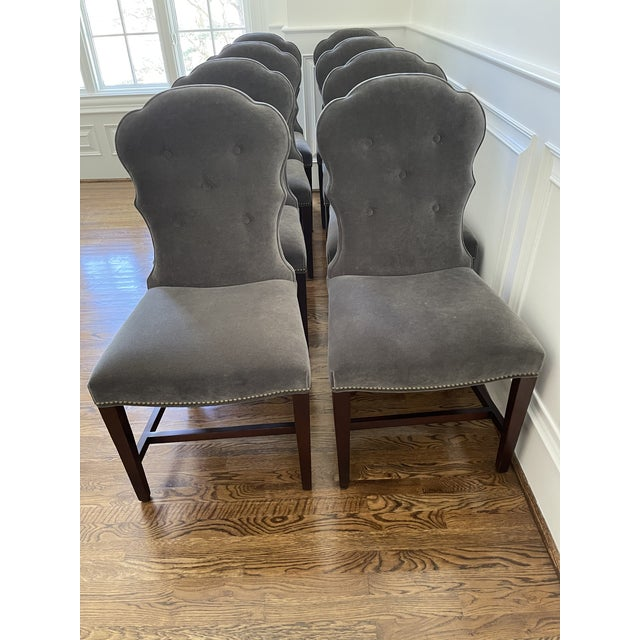 Lillian August Dining Chairs - Set of 8 For Sale - Image 11 of 11